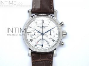 Patek Complications Power Reserve White