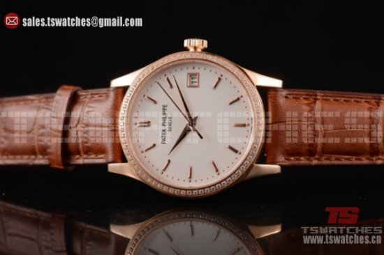 Rose Gold Patek Philippe Calatrava Replica