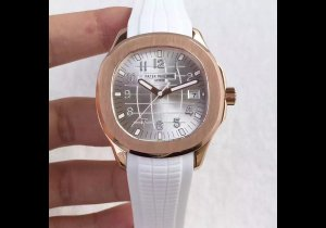 PP19922 - Patek 40mm Silver Dial RG RU Asian Cal.324