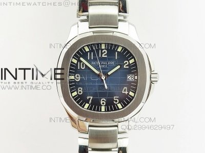 Aquanaut Jumbo V6 Best Edition SS Blue Dial on SS Bracelet A2824